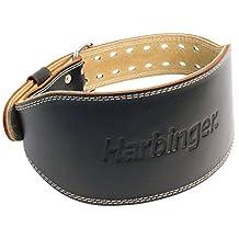 Harbinger 2843 4-Inch Padded Leather Lifting Belt, Large