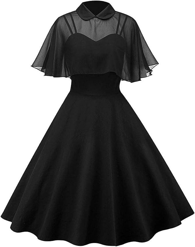 Women's Vintage Dresses 1950s Retro Cloak