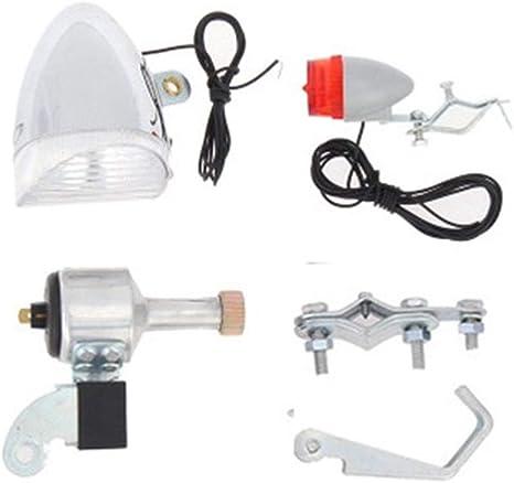 Boomder - Kit de luz Dinamo, generador motorizado de fricción de ...