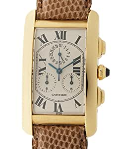 Cartier quartz mens Watch W2605856 (Certified Pre-owned)