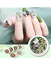 Multicolor Nail Art Rhinestones Nail Small Glitter Diamond Gems Crystal for Nail Art Decorations Supplies and DIY Decoration Diamonds Gems Crystals Beads DIY Design Mixed Colorful (F)