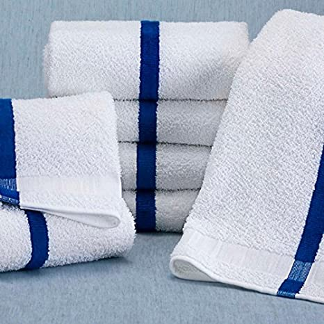 """Porsche Design Performance ferry gym towel 100/% cotton blue app 56.7/"""" x 27.2/"""""""