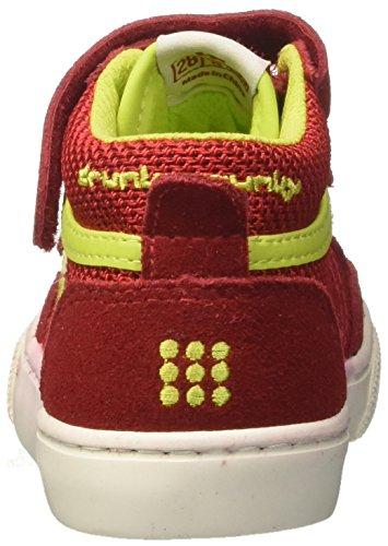 Boston redlime Alto Bambino Rosso Drunknmunky Collo Sneaker Mid A Bnxw8TTqAd