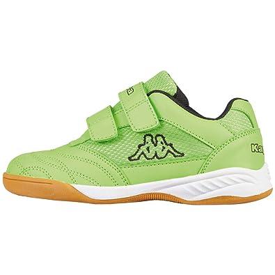 75c8e3b9b Kappa Indoor Kickoff Children's Indoor Shoes Green/Black 260509K, Shoe  Size:EUR 32