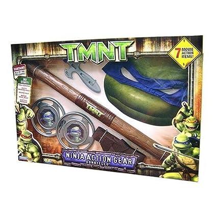 Amazon.com: Playmates Teenage Mutant Ninja Turtle Movie ...