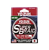 Yo-Zuri Superbraid 150 yd Floating Braid, Dark Green, 20 lb For Sale