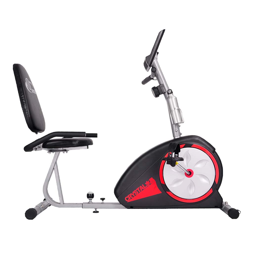 Bicicleta estática reclinada, bicicleta eléctrica de resistencia ...