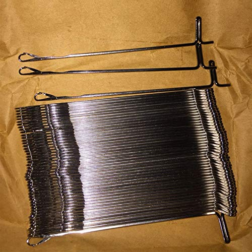 Sewing Tools 50Pcs Knitting Machine Needles for Brother Silver Reed Knitmaster Empisal Lk100 Lk140 Lk150 Kx350 Kx355 Kx370 Tools Accessory by Wincom Dishman