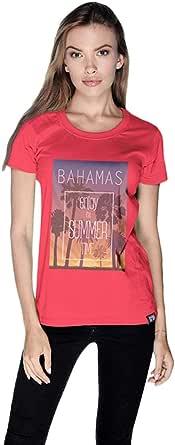 Creo Bahamas Beach T-Shirt For Women - Xl