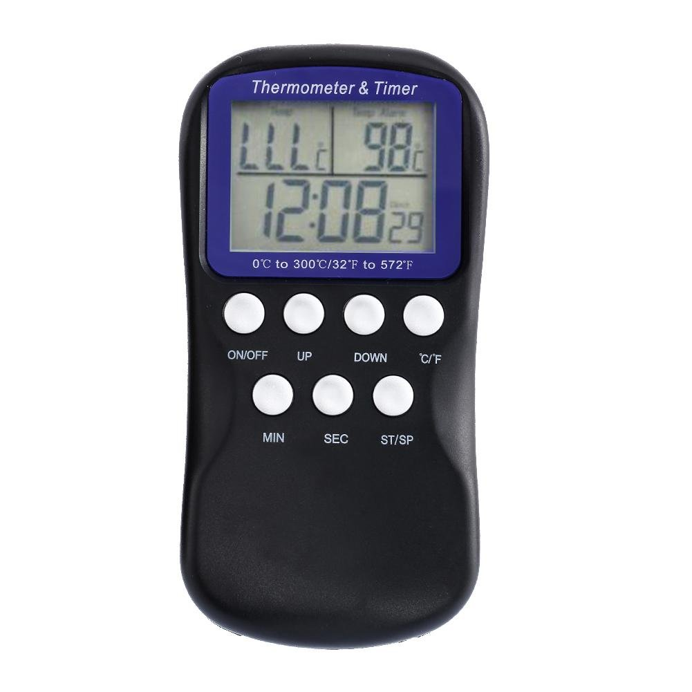 Vanpower Digital Food Probe Oven Thermometer Timer Temperature Sensor Cooking Baking