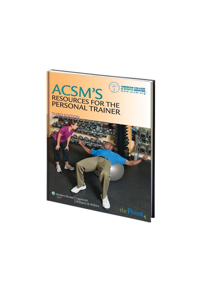 Amazon.com : ACSM\'s Resources for the Personal Trainer, 3rd Edition ...