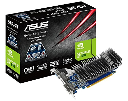 Asus GT610-SL-2GD3-L NVIDIA GeForce Grafikkarte (810MHz, DirectX 11, 2GB DDR3-Speicher, VGA, DVI, HDMI)