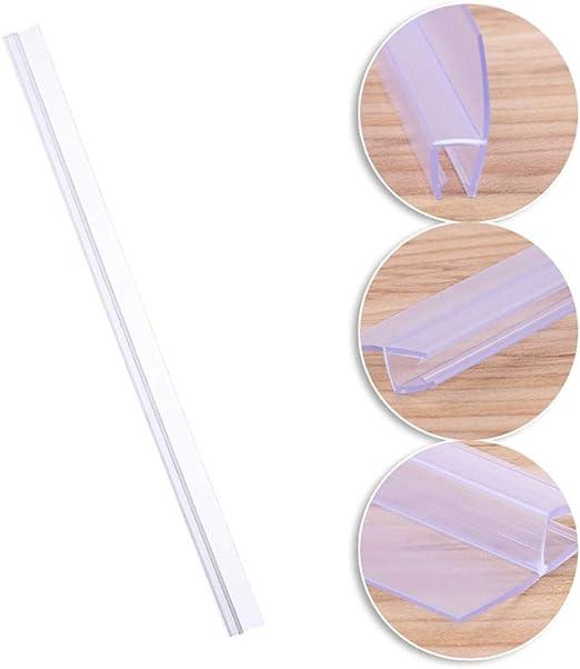 Sello De La Puerta De La Mampara De Ducha De Pvc Revestimiento De Agua Parada Baño Sello De Vidrio Sello De La Puerta De La Mampara De Ducha Transparente: Amazon.es: Bricolaje y