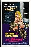 1000 convicts and a woman - 1000 Convicts and a Woman POSTER Movie (27 x 40 Inches - 69cm x 102cm) (1971)