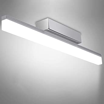 Lampe Salle de Bain Miroir - 12W Applique de salle de bains, LED SDB ...