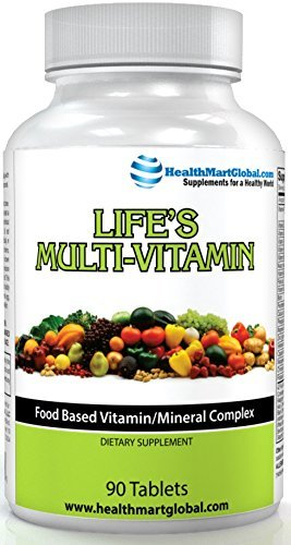 Natural Multivitamin Supplements for Men & Women - Life