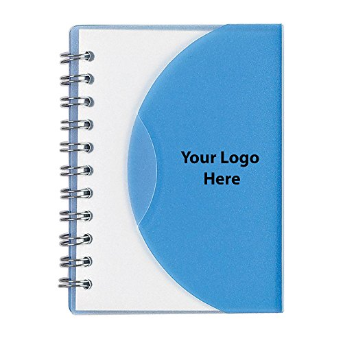 Mini Spiral Notebook - 100 Quantity - $1.25 Each - PROMOTIONAL PRODUCT/BULK/BRANDED with YOUR LOGO/CUSTOMIZED