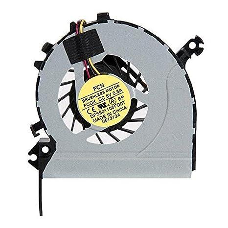 Nuevo ventilador para ordenador portátil para Toshiba Satellite C40 C40D-A C45-A CPU ventilador de refrigeración: Amazon.es: Electrónica