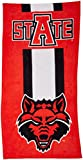 The Northwest Company NCAA Arkansas State Beach Towel, One Size, Multicolor