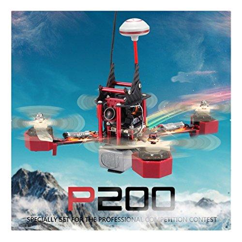 Efaster(TM) Cool JJPRO-P200 5.8G FPV Jumper HD Camera 2.4G 6 Channel 800TVL Quadcopter RTF by Efaster(TM)