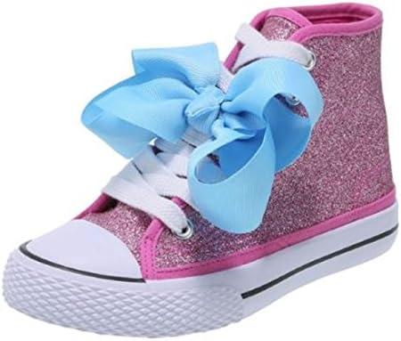 JoJo Siwa Bow Sneaker High Top Pink