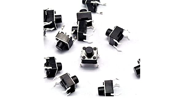 6 1000pcs Micro switch push button 6 6 mm 6x6x6mm NEW