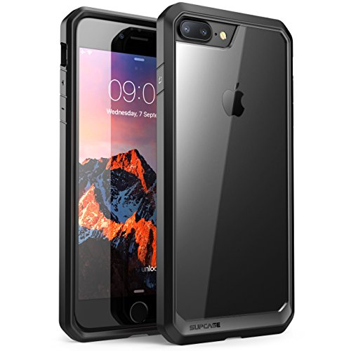 (SUPCASE Unicorn Beetle Series Case Designed for iPhone 8 Plus, Premium Hybrid Protective Clear Case for Apple iPhone 7 Plus 2016 / iPhone 8 Plus 2017 Release (Black))