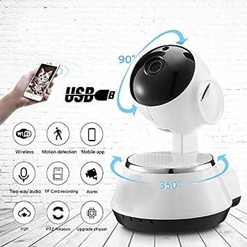 Wifi 1080P HD IP Camera Wireless IR Cut Home Security 2 Way Audio Night Visions