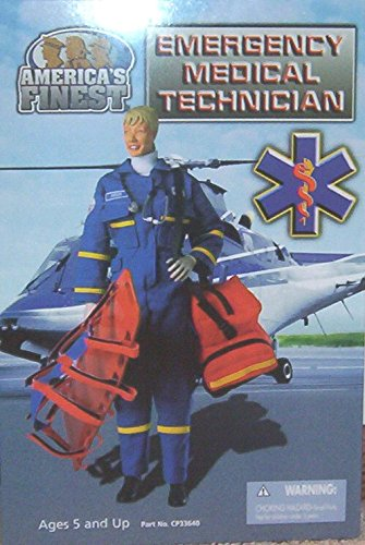 Americas Finest FEMALE EMT Emergency Medical Technician 21st Century Toys
