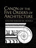 img - for Canon of the Five Orders of Architecture (Dover Architecture) book / textbook / text book