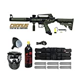 Tippmann Cronus Paintball Marker Gun -Tactical Edition- Olive Player Package