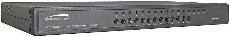 B000KL4MVW Speco 16 Channel Color Duplex Multiplexer 51h3-QN7WKL.SL1000_