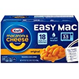 Kraft Easy Mac    Kraft Easy Mac Grab scrumptious Kraft Microwavable Macaroni & Cheese Dinner goodness on the go. It's our easiest and most convenient way to get your cheese on. Just buy it and try it. You know you love it. Makes ...