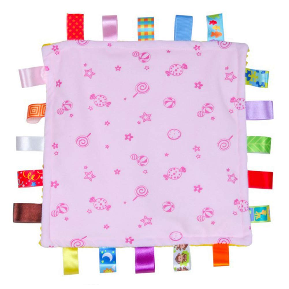 Amazon com: Taggies Blanket for Toddler-Made of Candy Baby Teething