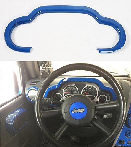 Opar Blue Dash Board Accent for 2007 - 2010 Jeep JK Wrangler & Unlimited
