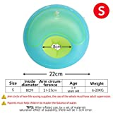 Gbell Swim Arm Rings Float - Thicken Inflatable Pool Arm Rings for Toddlers Baby Boys Girls Kids 1-14 Years Old,S/L/XL (S)