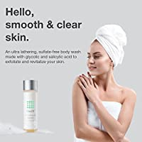 Keratosis Pilaris Exfoliating Body Wash 15% Glycolic Acid, 2% Salicylic Acid, & Hyaluronic Acid - Smooths Rough & Bumpy Skin - Gets Rid Of Redness, 8 Ounce
