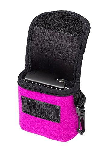 LensCoat BodyBag GoPro Neoprene Protection Camera Bag case (Pink) lenscoat