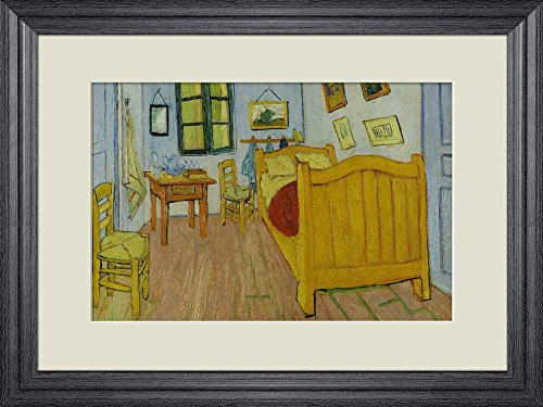 Creative 3D Visual Effect Wall Mural The Bedroom by Vincent Van Gogh Peel Stick Wall Decor
