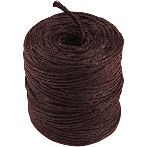 Ply 3 Hemp (Burlapfabric.com Brown Jute Twine 3-Ply 75 Yards)