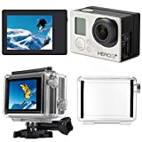 XCSOURCE® LCD Screen BacPac Display + Back Door Case Cover for Gopro Hero 3+/ 4 OS329