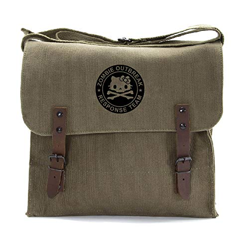 - Zombie Outbreak Response Team Hello Kitty Medic Shoulder Bag Olive & Black