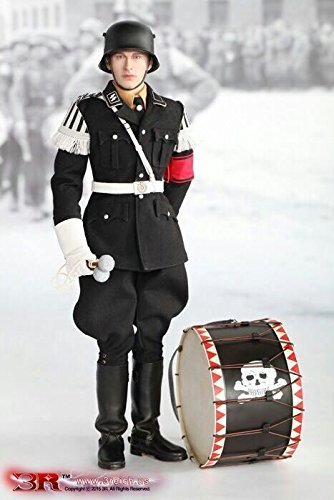 Did 1/6 Scale - DID 3R WWII German Musikkorps Der SS Bass Drummer Cymbalist Aaron 1/6 Scale GM629