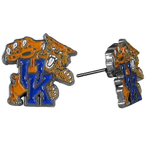 - NCAA Kentucky Wildcats Stud Earrings
