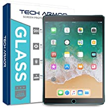 "iPad Pro (10.5"") Glass Screen Protector, Tech Armor Premium Ballistic Glass Apple iPad Pro 10.5-inch Screen Protectors [1]"