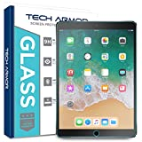 iPad Pro (10.5') Glass Screen Protector, Tech Armor Premium Ballistic Glass Apple iPad Pro 10.5-inch Screen Protectors [1]
