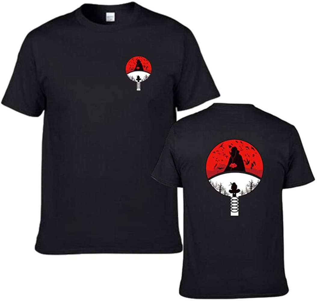 TSHIMEN Camisetas Hombre Naruto Camiseta Ninja para Hombre ...