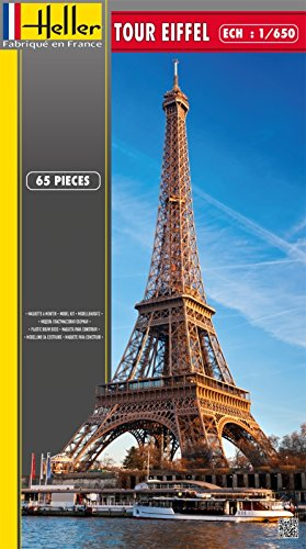 Heller Eiffel Tower in Paris Architectural Model Building Kit