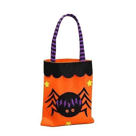 symboat Halloween caramelos regalo bolsas calabaza ...