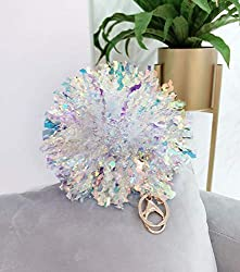 2-Pack Laser Sequins Wire Ball PomPom Bag